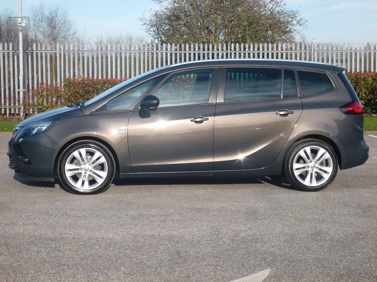 Used Vauxhall Zafira Tourer Sri 7 Seater