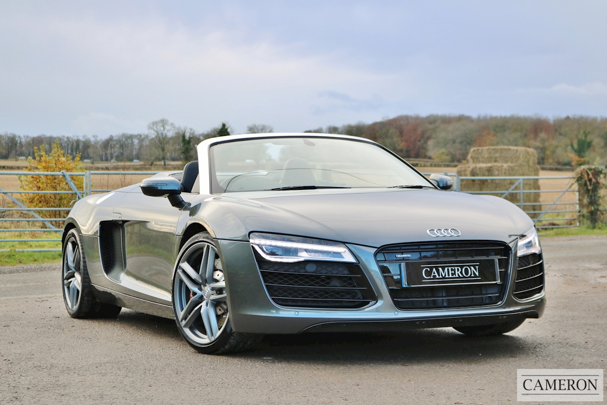 used audi r8 spyder v8 quattro 2014 cameron sports cars. Black Bedroom Furniture Sets. Home Design Ideas
