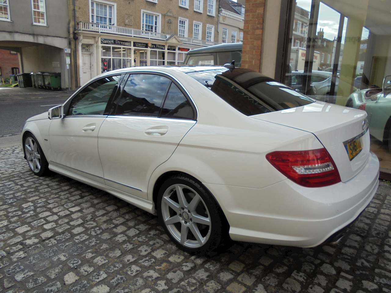 Used mercedes c class c220 cdi blueefficiency sport 2012 for 1076 door position switch