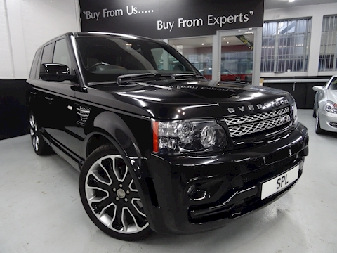 Land Rover Range Rover Sport Sdv6 HSE BLACK EDITION 2013