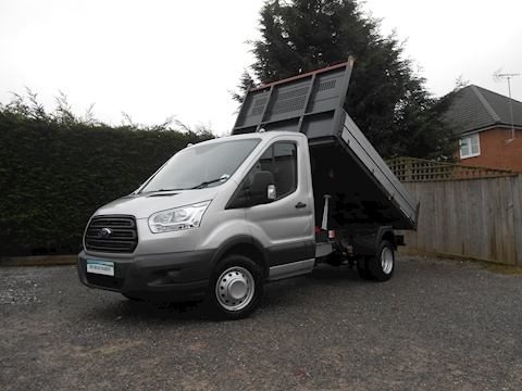 Ford Transit 350 L2 Mwb Bison Tipper 2.0 170ps Euro 6 Six speed CAB AIR CON