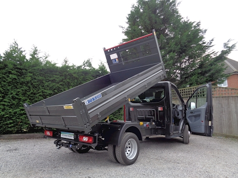 Ford Transit Bison Steel Floor/Alloy side Tipper 2.0 170ps Euro 6 Six speed