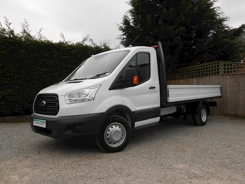 Ford Transit 350 L4 EF Lwb 4.1m Dropside Truck 2.0 130ps Euro 6 Six speed