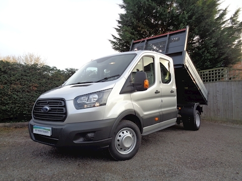 Ford Transit L3 Lwb Crew Cab Bison Tipper 2.0 170ps Euro 6 EcoBlue