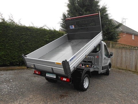 Ford Transit 350 L2 Silver Bison Tipper 2.0 130ps Six speed IN STOCK TODAY