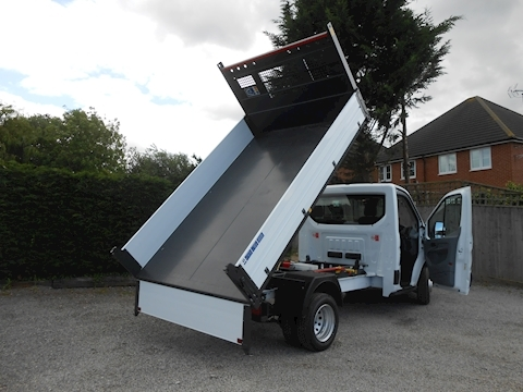 Ford Transit L2 350 Bison Tipper CAB AIR CON 2.0 130ps Euro 6 IN STOCK TODAY