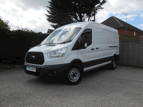 Ford Transit 350 L3 H2 Lwb Med roof van 2.2 125ps Euro 5 Six speed