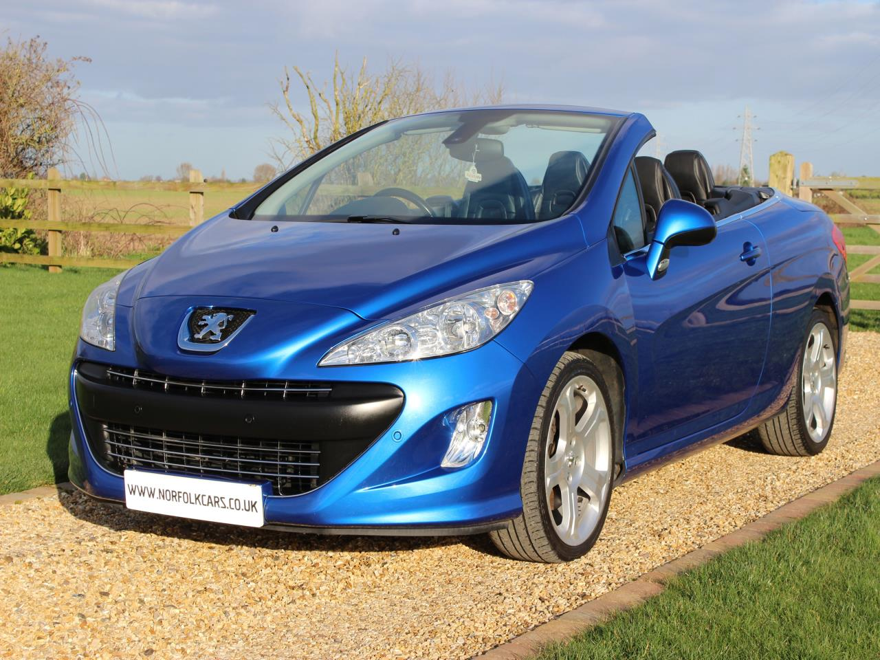 used peugeot 308 hdi cc gt 2009 norfolk cars. Black Bedroom Furniture Sets. Home Design Ideas