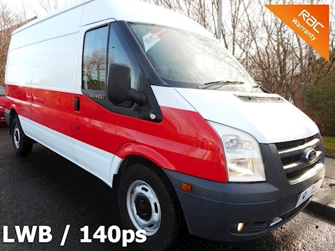 Ford Transit (2012) 350 Long wheelbase medium roof(140ps) lovely mileage, incredible value, ex NHS