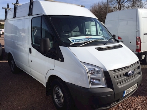 Ford Transit 300 SWB Medium roof only 24000 miles - just in
