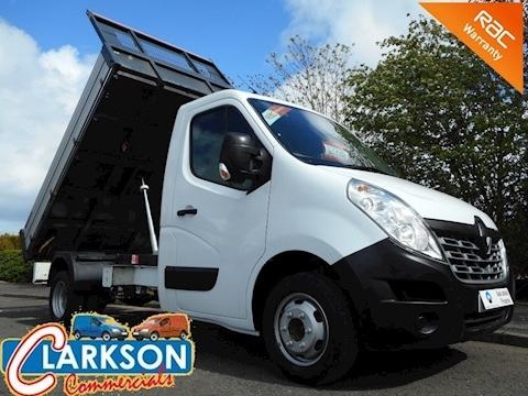 Renault Master (2015) ML35 Business 125DCi factory built tipper - incredible value / great vehicle