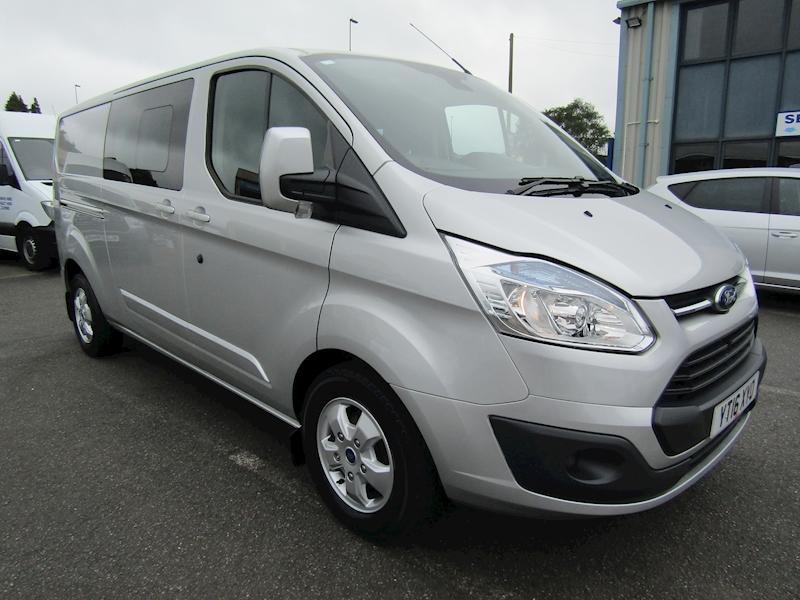 Ford Transit Custom 290 Limited L2 H1 DCIV - Crew Van