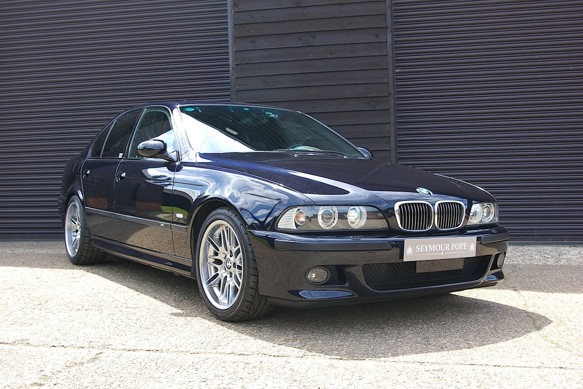 BMW M5 E39 4.9 V8 6 Speed Manual Saloon LHD - Large 0