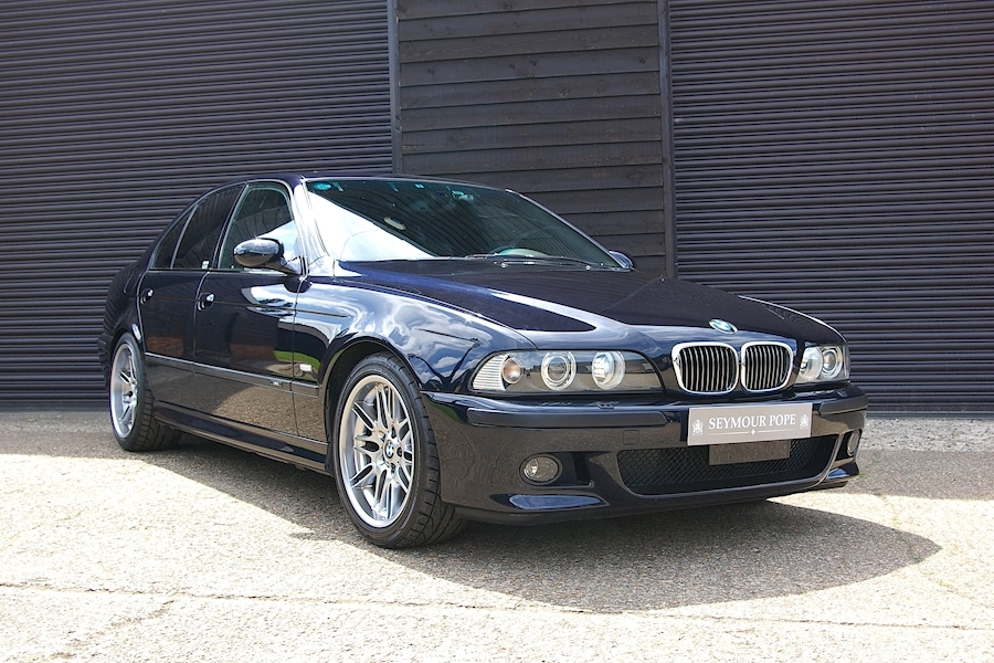 BMW M5 E39 4.9 V8 6 Speed Manual Saloon LHD