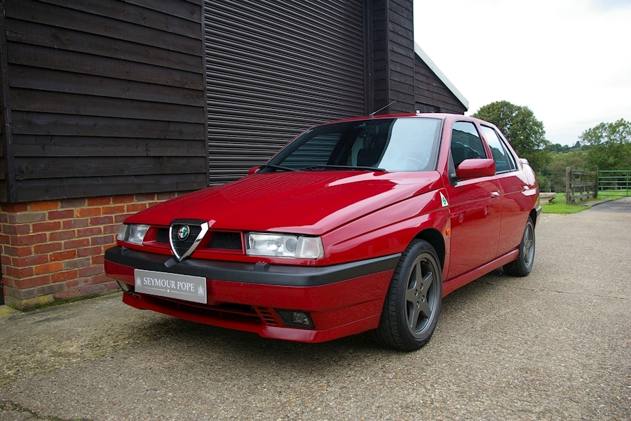 Alfa Romeo 155 2.0i 16V T-SPARK Cloverleaf 1 of 500 5 Speed Manual
