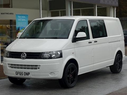 Volkswagen Transporter Tdi 102ps T32 6 Seat Kombi/Crew Sportline L2 Lwb
