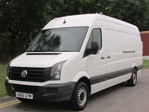 Volkswagen Crafter Tdi 140ps CR35 High Roof Lwb
