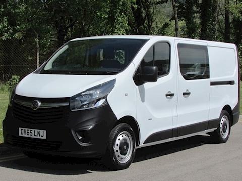 Vauxhall Vivaro Cdti 115ps 2900 L2H1 Lwb 6 Seat Crew/ Double Cab