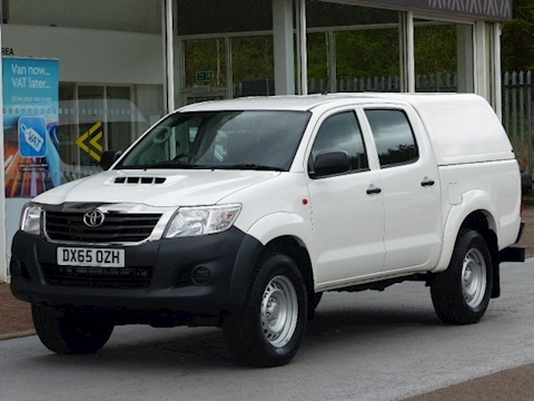 Toyota Hilux D-4D 142ps Active 4X4 Double Cab Pick Up with Canopy