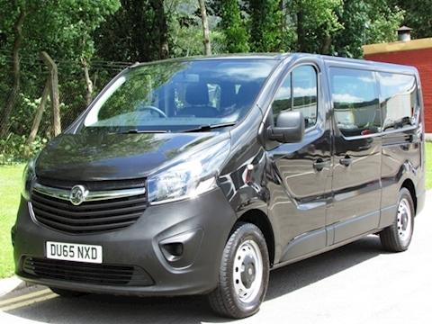 Vauxhall Vivaro Cdti 115ps 9 Seat Minibus/ Combi L2 Lwb