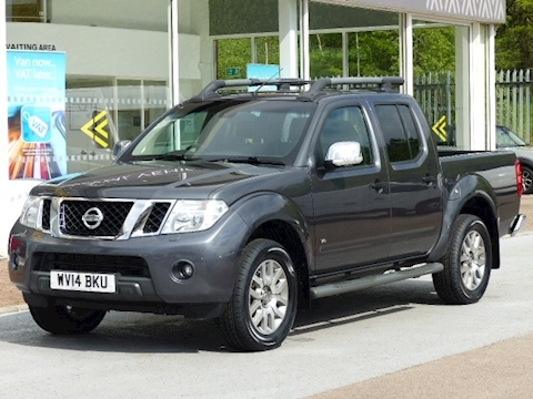 Nissan Navara Dci V6 230ps Outlaw Automatic 4X4 Double Cab Pick Up