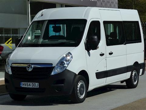 Vauxhall Movano Cdti 125ps L2H2 Mwb 9 Seat Minibus