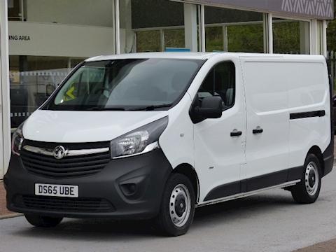 Vauxhall Vivaro Cdti 115ps 2900 L2H1 Lwb Panel Van