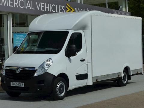 Vauxhall Movano Cdti 125ps F3500 Low Loader/ Box Van