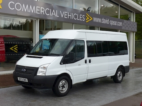 Ford Transit Tdci 135ps 350 Lwb 14 Seater Minibus with Tacho
