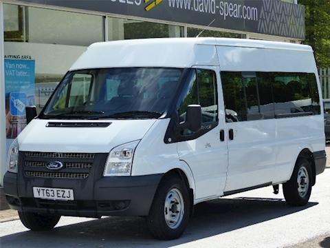 Ford Transit Tdci 135ps 350 Lwb 14 Seater Minibus