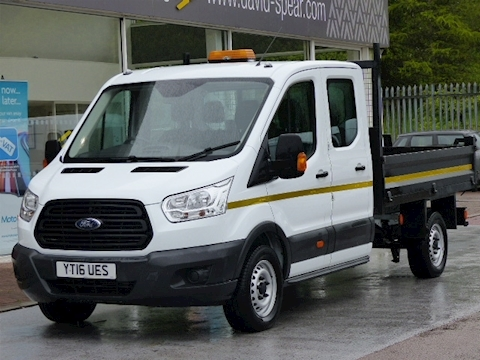 Ford Transit Tdci 125ps 350 Double Cab Tipper
