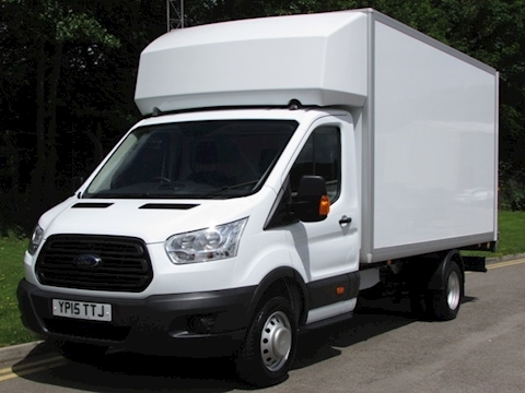 Ford Transit Tdci 125ps 350 L4 Xlwb Luton With Tail Lift