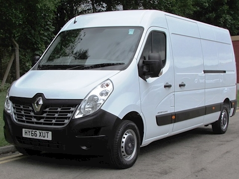 Renault Master Dci 125ps LM35 L3H2 Business Lwb Panel Van with Del Miles