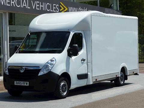 Vauxhall Movano Cdti 125ps Low Loader Luton/Box Van