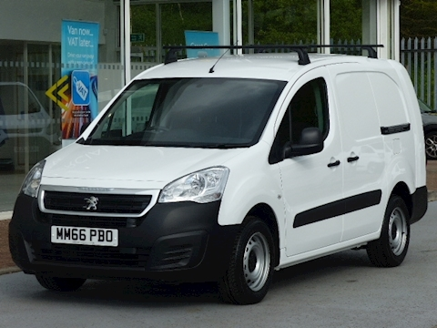 Peugeot Partner Hdi 100ps Bluemotion S L2 Lwb with Twin side Doors