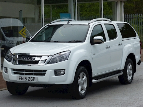 Isuzu D-Max Td 165ps Utah Lwb Double Cab Pick Up