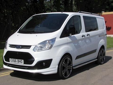 Ford Transit Custom Tdci 105ps 290 Trend L1 Swb 6 Seat Kombi/Crew Van Limited Edition