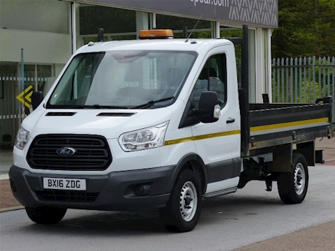 Ford Transit Tdi 125ps 350 Single Cab Tipper