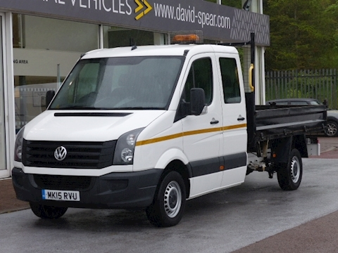 Volkswagen Crafter Tdi 110ps CR35 Lwb Double/Crew Cab Tipper