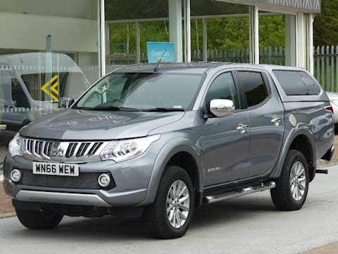 Mitsubishi L200 Di-D 180ps 4X4 Barbarian Lwb Double Cab Pick Up With Canopy
