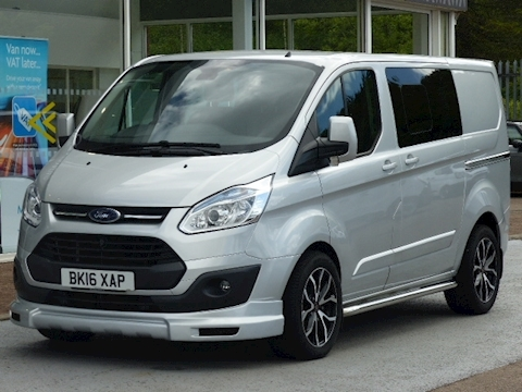 Ford Transit Custom Tdci 125ps 290 Limited L1 Kombi/Crew  With Sport Body Kit & Leather
