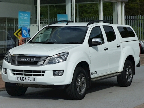 Isuzu D-Max Td 165ps 4X4 Blade 4x4 Double Cab Pick Up With Canopy &  NO VAT