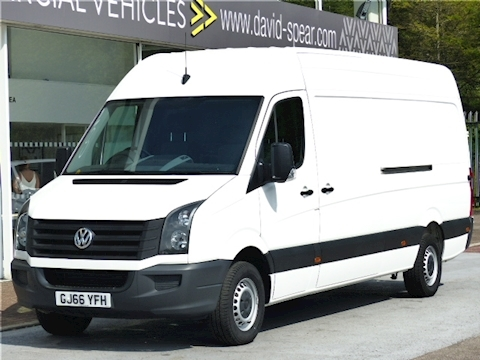 Volkswagen Crafter Tdi 109ps CR35 High Roof Lwb L4 Jumbo