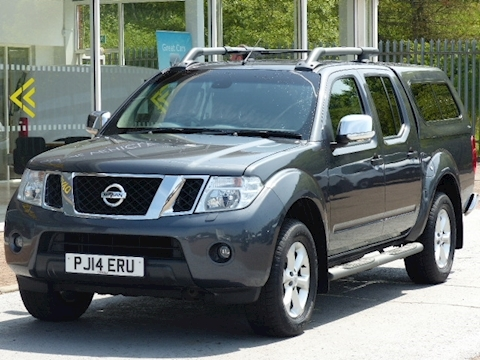 Nissan Navara Dci 190ps Tekna 4X4 Double Cab Pick Up With Canopy