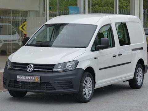 Volkswagen Caddy Maxi Tdi 102ps C20 Lwb Kombi Van With Air Con