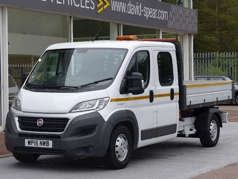 Fiat Ducato 130ps 35 Maxi Double Cab Tipper