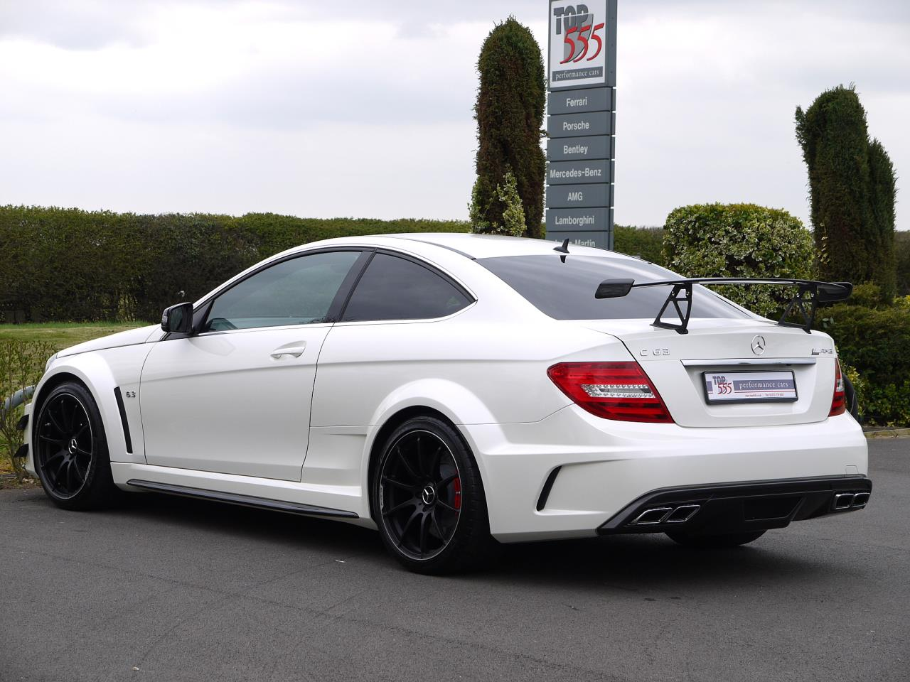 Used mercedes mercedes benz c63 amg black series edition for Mercedes benz amg used