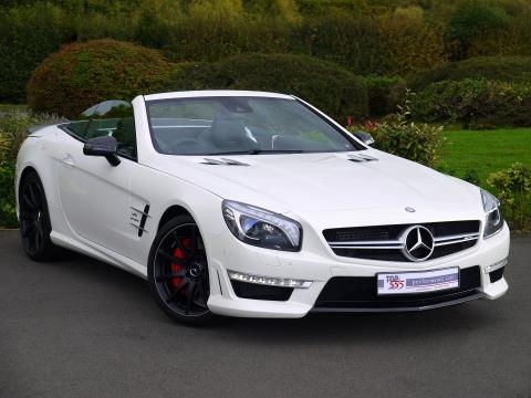 Mercedes SL63 AMG 5.5 V8 Bi-Turbo