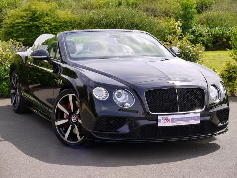 Bentley Continental GTC V8 S Mulliner