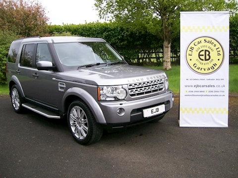 Land Rover Discovery 3.0 Sdv6 HSE Estate Automatic Diesel